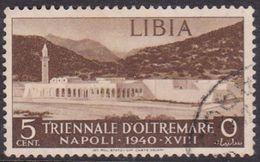 Italy-Colonies And Territories-Libya S 164 1940 Triennial Overseas Exposition,5c Brown,used - Libya