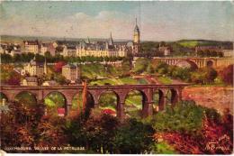 LUXEMBOURG VALLE DE LA PETRUSSE ILLUSTREE PAR BERAUD REF 53413 - Luxemburg - Town