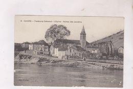 CPA DPT 46 CAHORS, FAUBOURG CABESSUT,L EGLISE, RUINES DES JACOBINS - Cahors