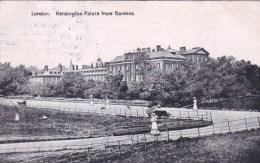 England - LONDON  - Kesington Palace From Gardens - London