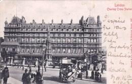 England - LONDON  - Charing Cross Station - London