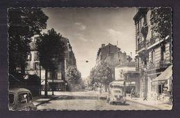 CPSM 92 - ISSY-LES-MOULINEAUX - Avenue Victor Cresson - Carrefour Galliéni TB PLAN ANIMATION AUTOMOBILES - Issy Les Moulineaux