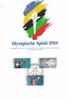Berlin Card 1988 Olympic Games - Für Den Sport (LAR5-40) - Estate 1988: Seul