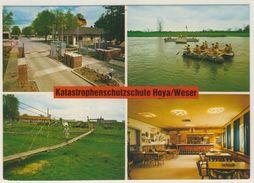 AK  Hoya Weser Katastrophenschutz _ Normalformat _Ansichtskarte - Nienburg