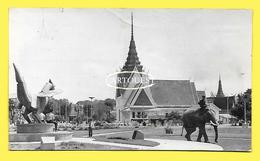CPSM Stand Du CAMBODGE à La Foire De Paris En 1966 ( Elephant, Bien Animée ) - Cambodia
