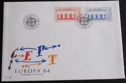 SCHWEDEN 1984 MI-NR. 1270/71 CEPT FDC - Europa-CEPT