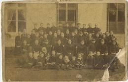 Brasschaat :  Oude Klasfoto ( 2 Scans )  Formaat 23.5 X 15 Cm ( Zie Detail !!!) - Plaatsen