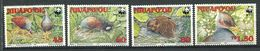 207 NIUAFO OU 1992 - Yvert 175/78 - WWF Oiseau - Neuf ** (MNH) Sans Trace De Charniere - Tonga (1970-...)