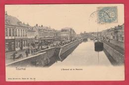 Tournai - L'Escaut Et Le Marché - 190? ( Voir Verso ) - Tournai