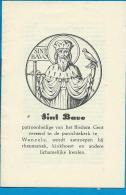 Holycard    Litanie   St. Bavo   Wanzele - Images Religieuses