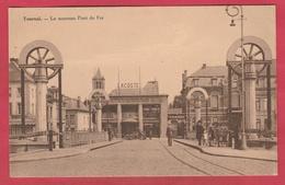 Tournai - Le Nouveau Pont De Fer ... Belle Animation  ( Voir Verso ) - Tournai