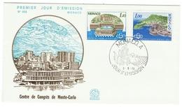 Monaco // FDC // 1978 // Centre De Congrès De Monte-Carlo - FDC