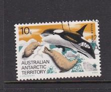 Australian Antarctic Territory S 28 1973 Definitives 10c Killer Whale Used - Australian Antarctic Territory (AAT)