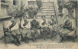 LES SIX FAVORITES DE SA MAJESTE SISOWATH ROI DU CAMBODGE - PHNOM PENH - COLLECTION DIEULEFILS - Cambodia