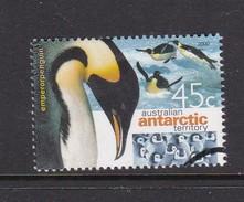 Australian Antarctic Territory  S 123 2000 Antarctic Penguins  45c Emperor Penguin Used - Gebraucht