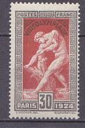 N° 185 Jeux Olympique De Paris:Milon De Cretone: Timbre Neuf Impecable Sans Charnière - France