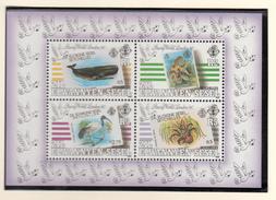 Zil Elwannyen Sesel - London 1990 - XX - Michel Bl 8 - Cote 7.00 - Timbres Sur Timbres