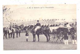 F 57500 SAINT - AVOLD / SANKT AVOLD, Kaisermanöver 1908, Ihre Majestät Die Kaiserin Auf Dem Paradefeld - Saint-Avold
