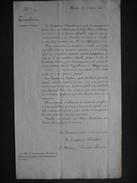 NAMUR 1820-Circulaire N°2 Concernant La Constitution D'une Commission Locale Pr Le Soutien Du S.M. Dans Les PAYS-BAS - Historical Documents