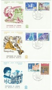 Monaco // FDC // 1979 // Centenaire De L'opéra De Monte-Carlo ( 3 Lettres) - FDC