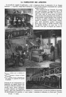 LA FABRICATION Des APERITIFS  ( ABSINTHES - VERMOUTHS - AMERS - BITTERS )  1908 - Spirits