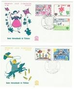 Monaco // FDC // 1979 // Année Internationale De L'enfance ( 2 Ettres) - FDC