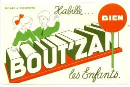 ---- BUVARD ---- -   BOUT'ZAN Habile Bien Les Enfants -  -excellent état - Textile & Clothing