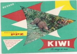 -BUVARD -   Cirage  KIWI Le Cirage De Luxe  -excellent état - Produits Ménagers