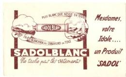 -BUVARD -   Votre Idole -SODOLBLANC Ne Tache Pas Le Vetement -TTB - Produits Ménagers
