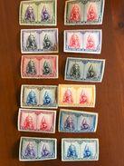 1928 - ESPANA - Group Of 12 ** Stamps - PRO FIDE ARTIBUS - Very Nice - 1889-1931 Royaume: Alphonse XIII