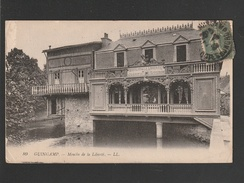 Guingamp Maison De La Liberté  JOSEPH GOUBIN 1920 (DEFAUTS: Petites CORNURES Legeres  TTB Tenue  )  Ti 494) - Guingamp