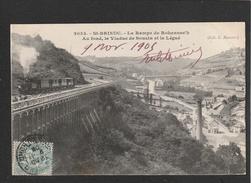 Saint Brieux Train Sur La Rampe 1905 (DEFAUTS: PLIURE  Legere è D  TTB Tenue  )  Ti 495) - Saint-Brieuc