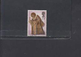 GRAN BRETAGNA  1972 - Unificato  671° - Natale - Musica - 1952-.... (Elisabetta II)