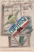 CPA ATTIGNY ARDENNES UN TISSERAND ARDENNAIS 1820-1840 MODELE DE SON METIER A LA MAIN - Attigny