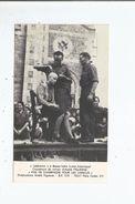 LIBERATION A BASSE INDRE (LOIRE ATLANTIQUE)  FEMME RASEE  (RETIRAGE PLUS RECENT) HISTORIQUE - Weltkrieg 1939-45