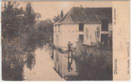 28231g  ABREUVOIR - Chièvres - 1904 - Chièvres