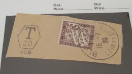 LOT 365317 TIMBRE DE FRANCE OBLITERE RARE CACHET - Postage Due