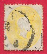 Autriche N°17 2K Jaune 1861 O - Usati