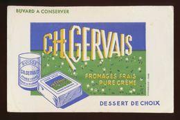 Buvard - CH GERVAIS - Dessert De Choix - Buvards, Protège-cahiers Illustrés