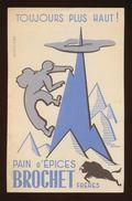 Buvard - Pain D' Epices - BROCHET - Buvards, Protège-cahiers Illustrés