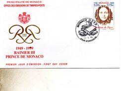 FDC MONACO   CONTESSE DE SEGUR   TIMBRE   N° YVERT ET TELLIER  2210   199 - FDC