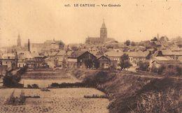 59 - Le Cateau - Vue Générale (timbres, 1931) - Le Cateau