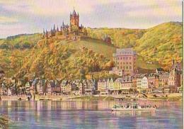 Cochem   H645         Cochem An Der Mosel Mit Burg - Cochem