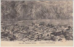 28290g  TIBET - Une Ville Thibétaine - Bathang - A Town In Thibet - Bathang - Tibet