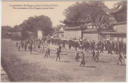 28291g  CHINE - CHINA - La Procession Du Dragon Autour De Suifu - The Procession Of The Dragon Around Suifu - Chine