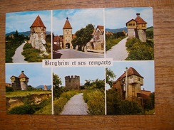 Bergheim , Site Habité Dès L'époque Romaine , Ville Fortifiée Depuis 1312 - France