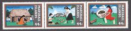 Marshall Islands 1987 Mi# 139-41** COPRA INDUSTRY - Marshall Islands
