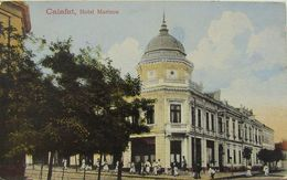 CALAFAT 1935, Hotel MARINCU, Animata, Necirculata - Roumanie