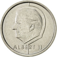 Belgique, Albert II, Franc, 1997, Brussels, TTB+, Nickel Plated Iron, KM:187 - 02. 1 Franc