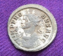 PROBUS,,SILVERED AE ANTONINIANUS, 4.04. Gr. III C.A.D, EXCELLENT QUALITY AND PATINA (18) - 5. The Military Crisis (235 AD Tot 284 AD)
